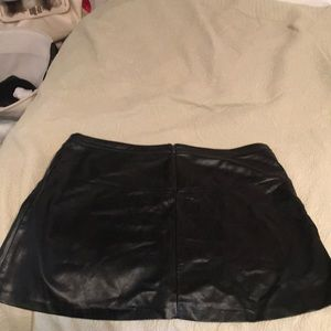 Reitmans Skirts - Leatherette plus-size skirt